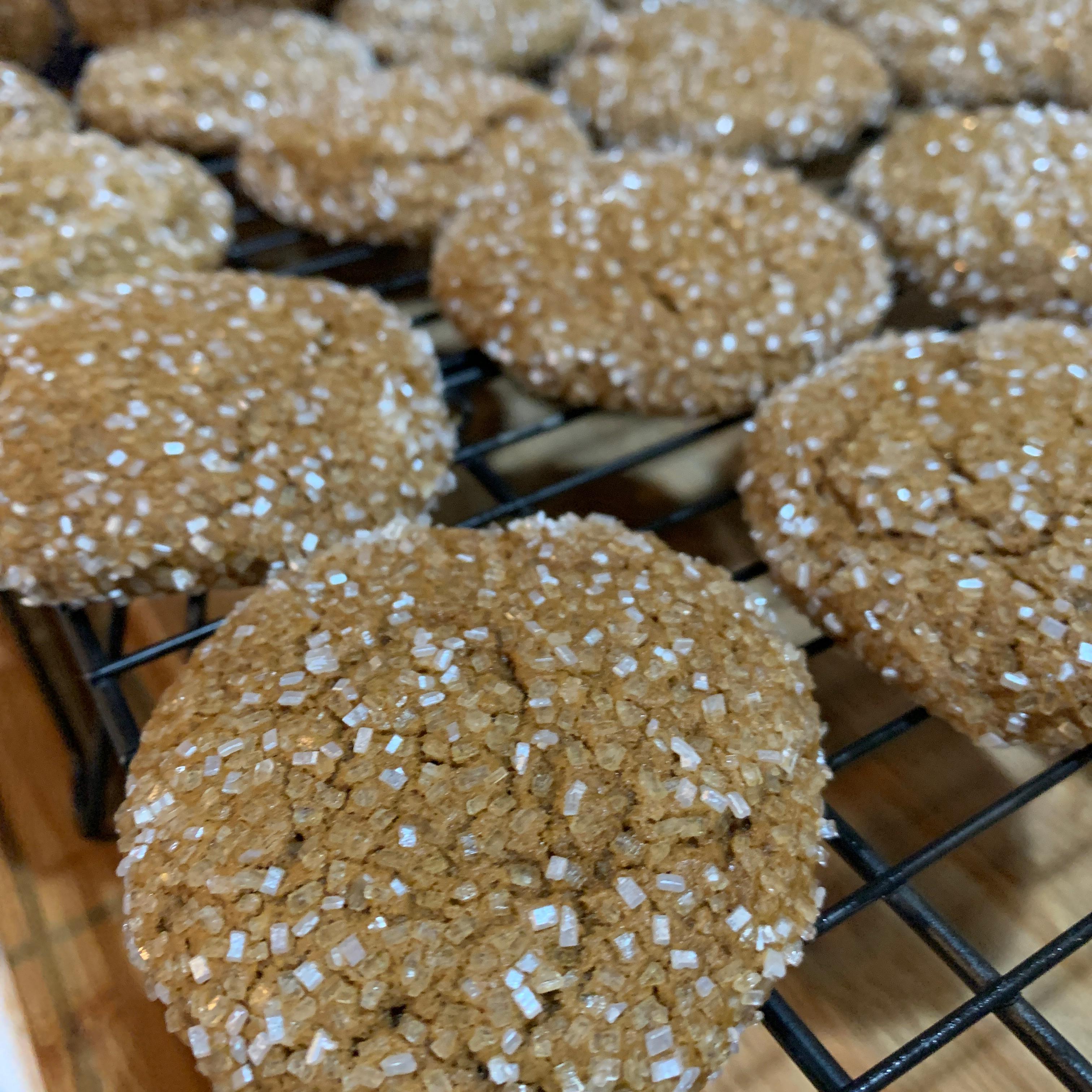 Soft Molasses Cookies III wingsfailmenot