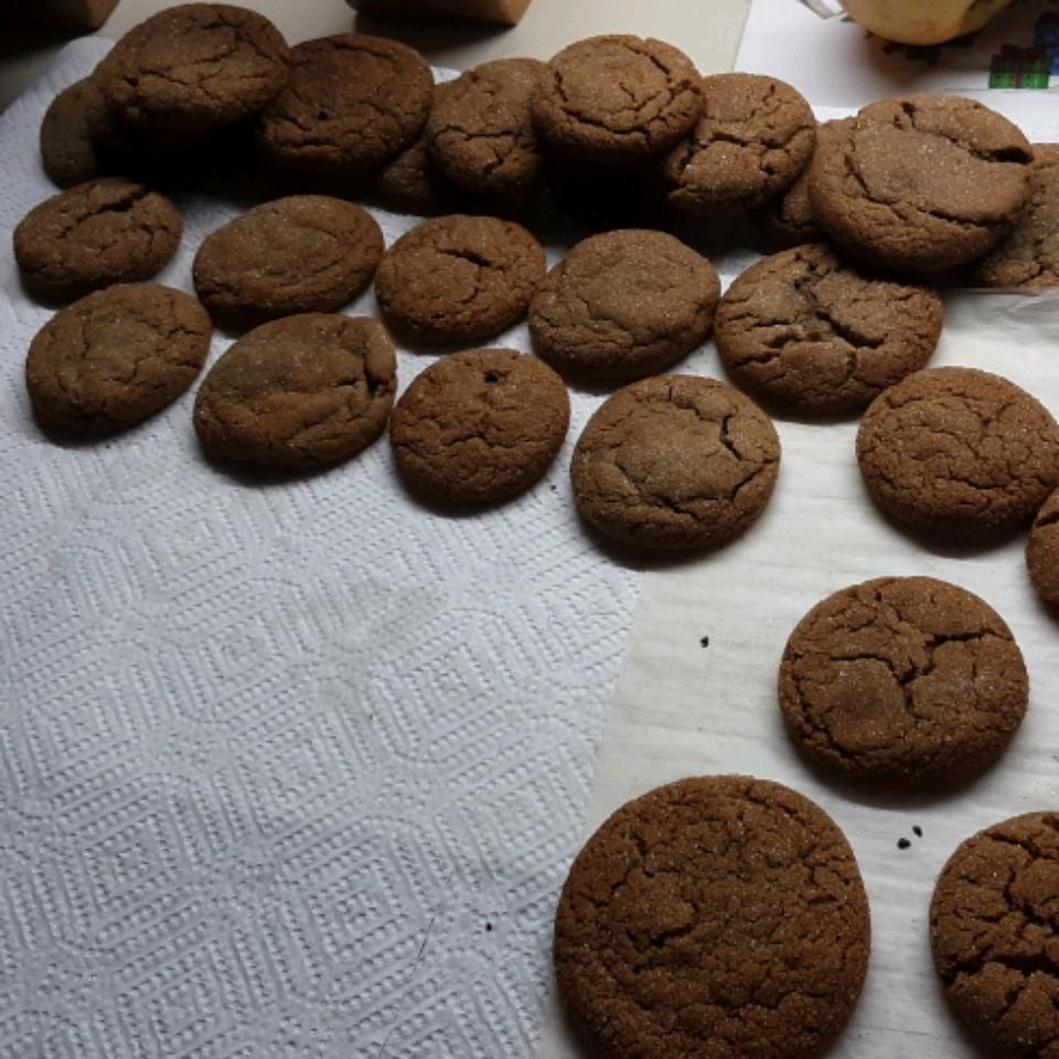 Molasses Sugar Cookies Rhonda Hathaway