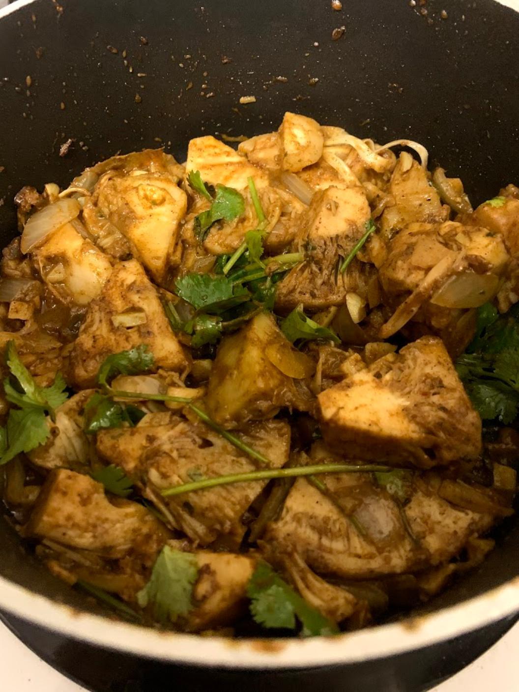 Coconut Jackfruit Curry