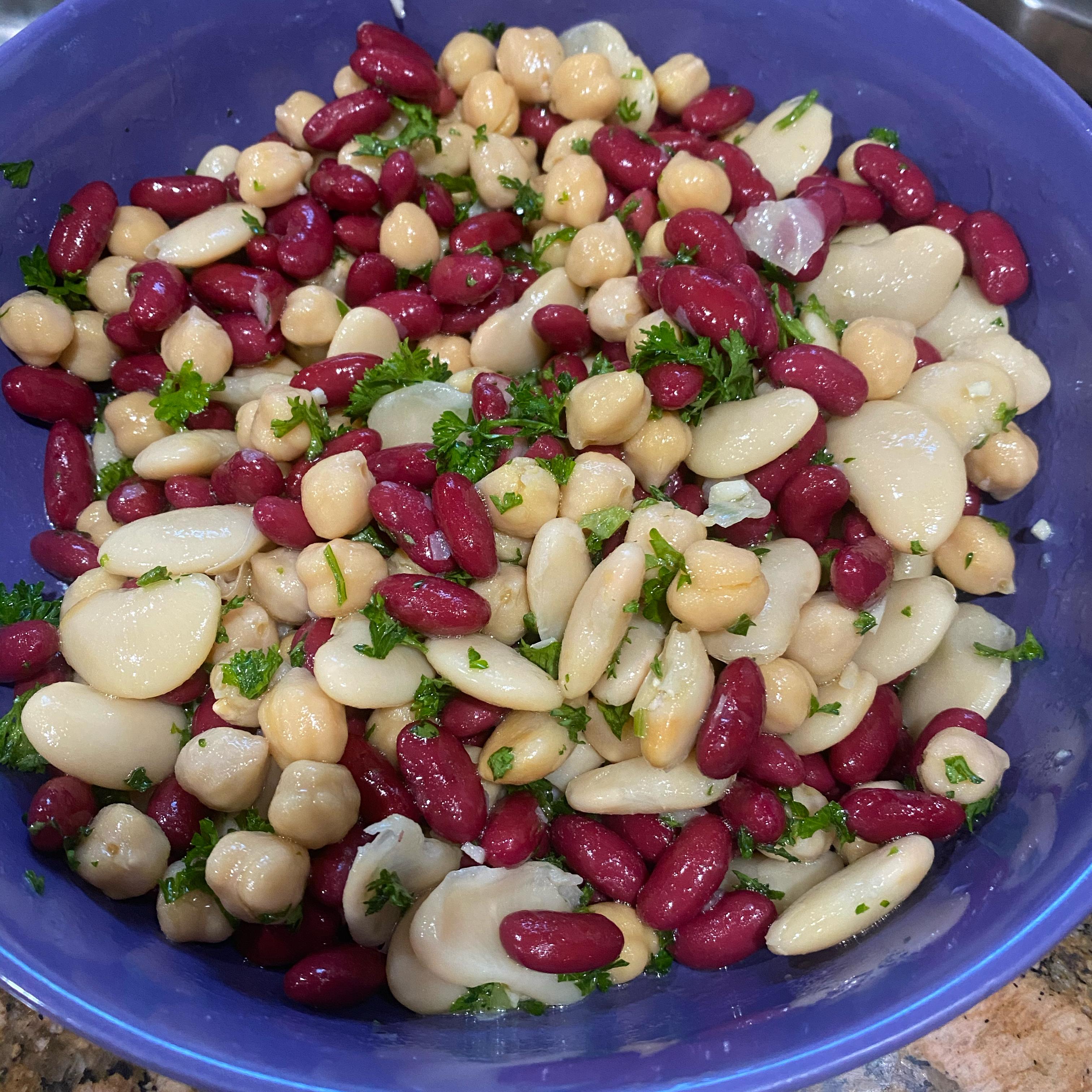 Lebanese Bean Salad Berta