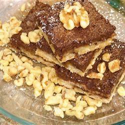 Chocolate Walnut Bars GodivaGirl