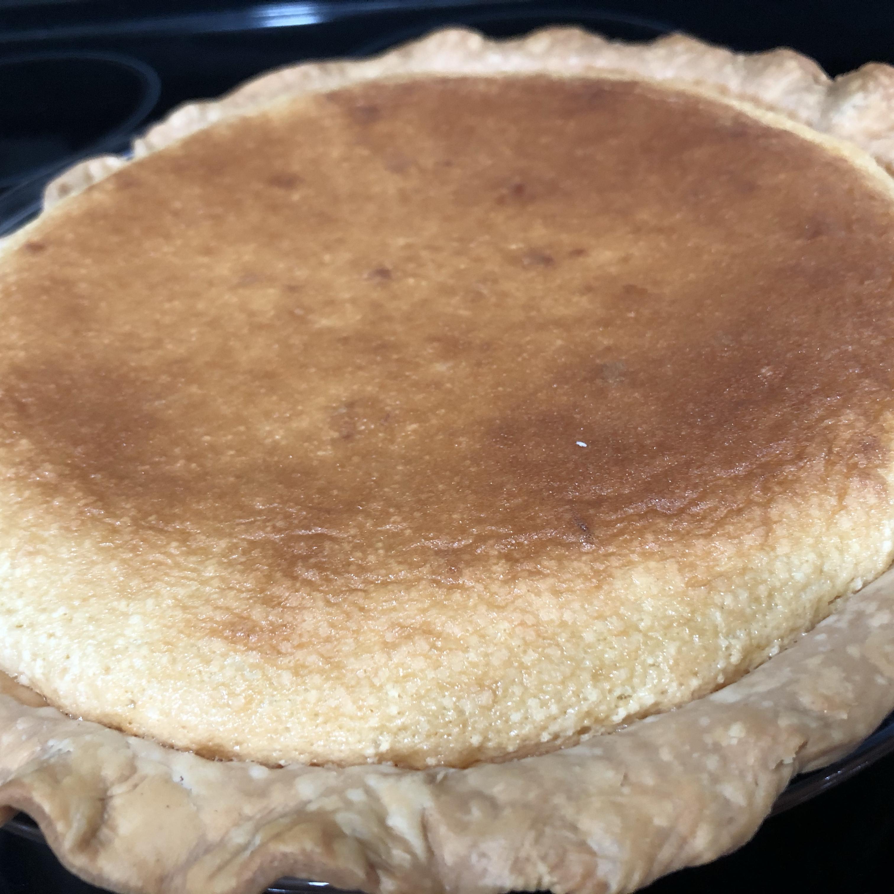 Holiday Eggnog Pie