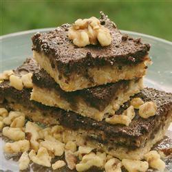 Chocolate Walnut Bars
