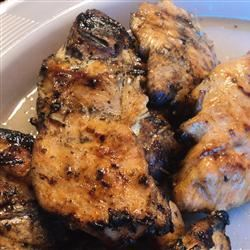 Bessy's Zesty Grilled Garlic-Herb Chicken Renee