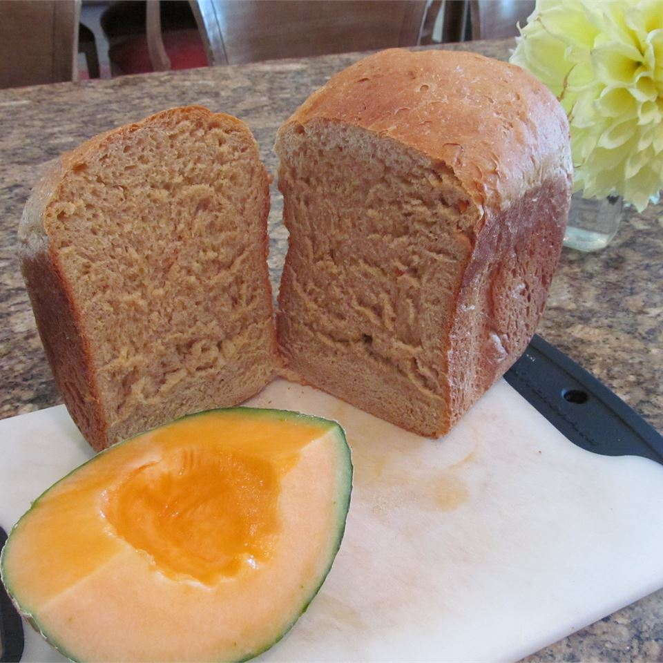 Fresh Cantaloupe Bread
