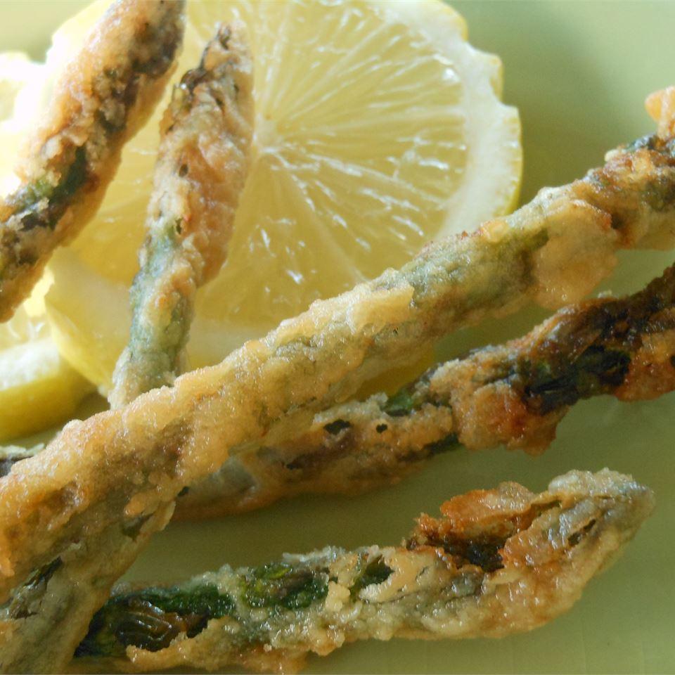 Fried Asparagus Sticks SunnyDaysNora
