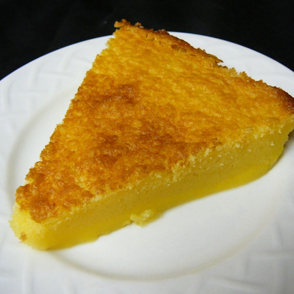 Impossible Buttermilk Pie Molly