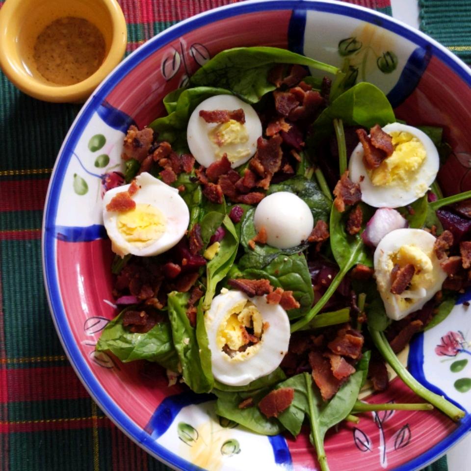 Spinach Salad II Nanette Spencer