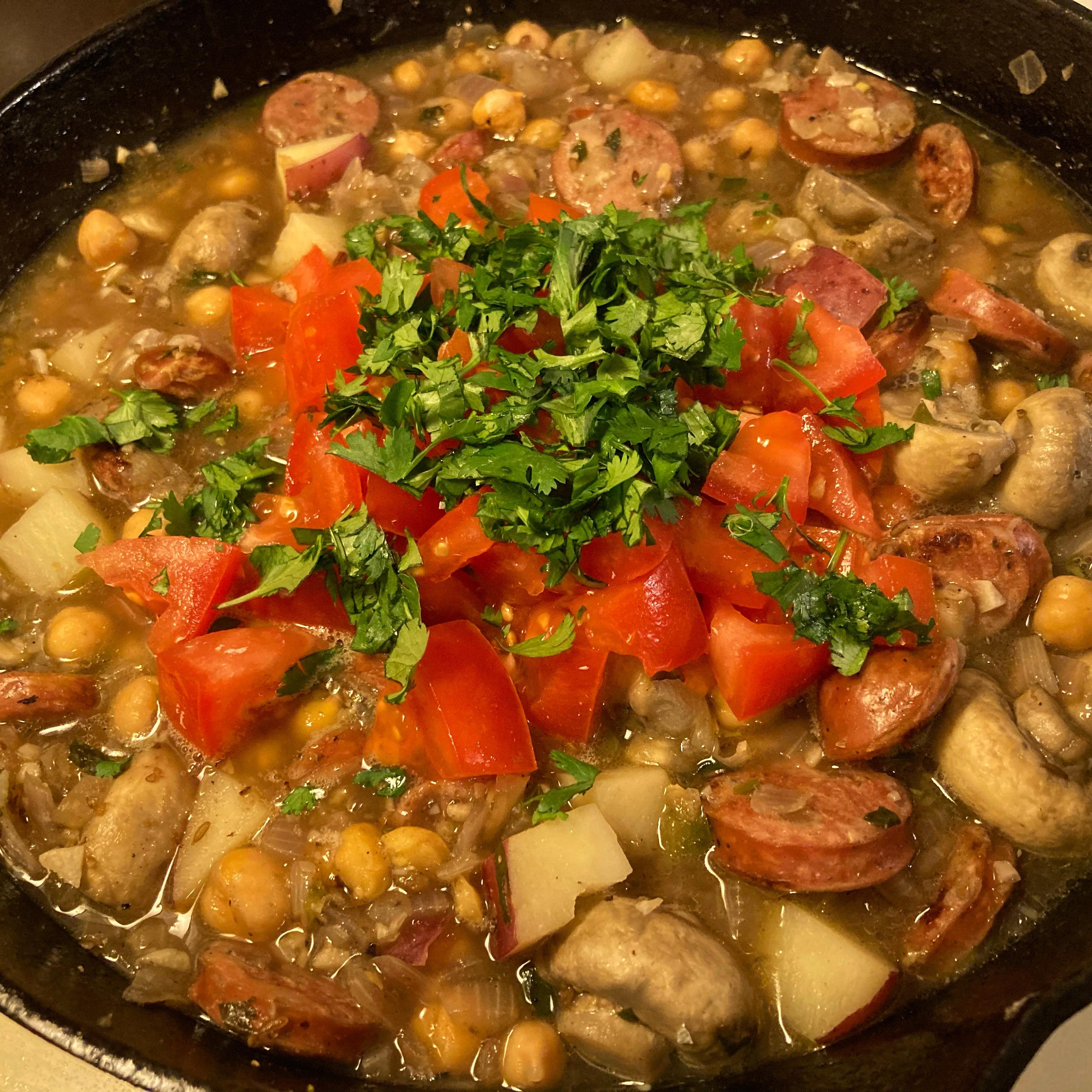 Chickpea Stew Carm