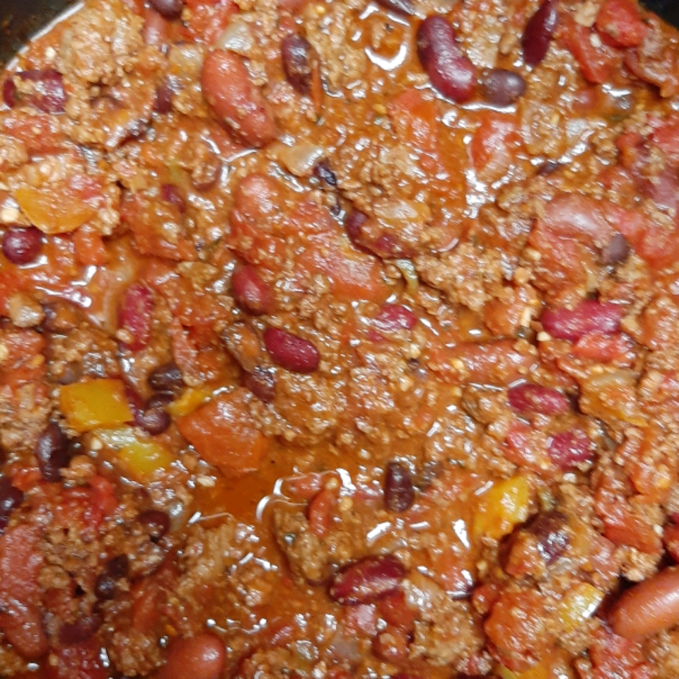 Hearty Ground Beef Chili