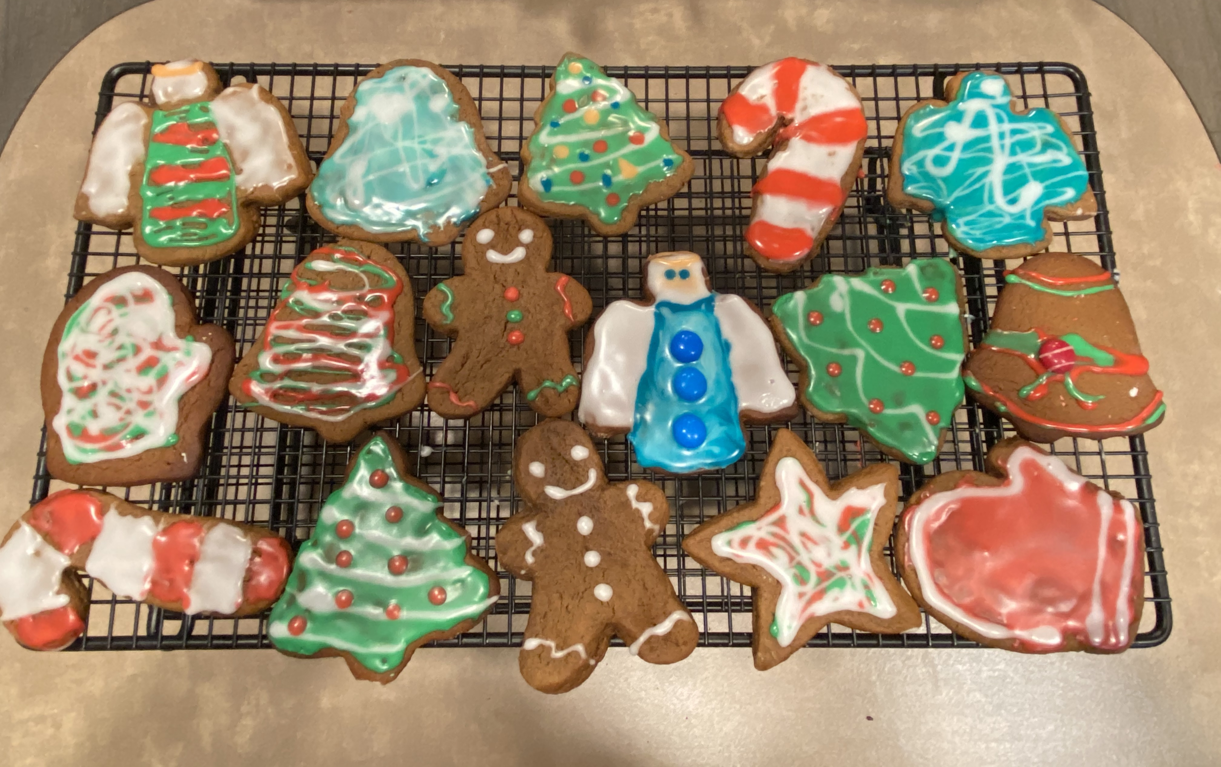 Gingerbread Cookie Frosting Mary Ellen Patrick