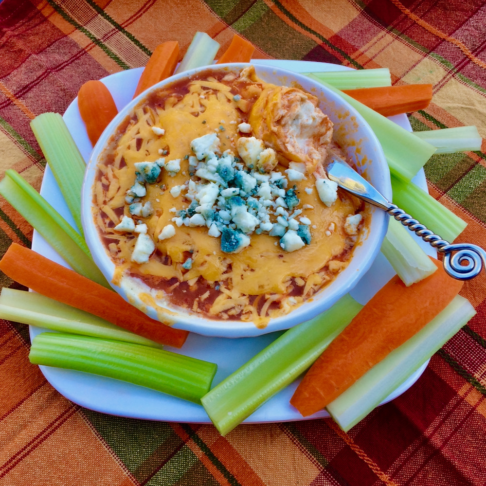 Buffalo Dip with Rotisserie Chicken
