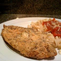 Baked Parmesan-Crusted Chicken Damien
