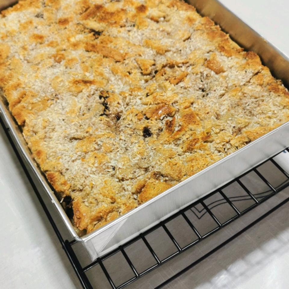 Chocolate Almond Bread Pudding Bing Frias