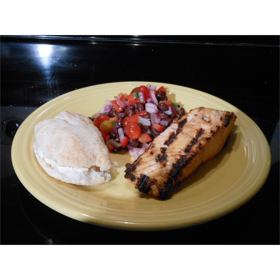 Lime-Marinated Grilled Salmon SSwisher