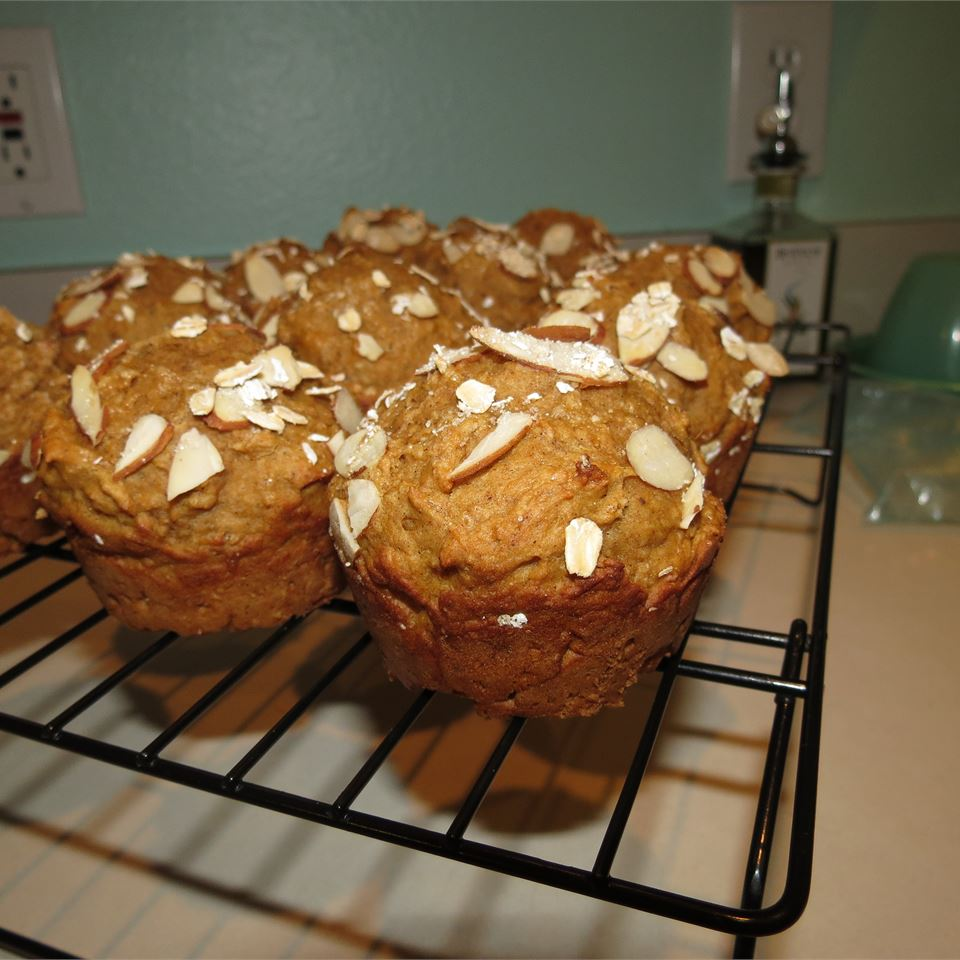 Whole Wheat Sweet Potato Muffins