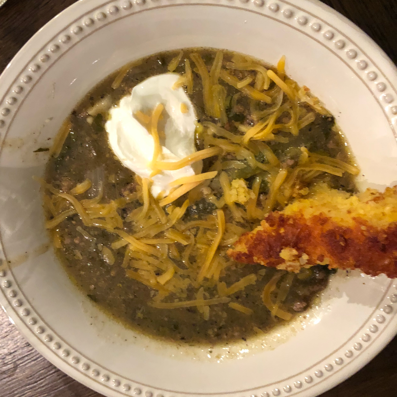 Green Enchilada Pork Chili tybeerious