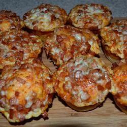 Mini Lunch Box Pizzas