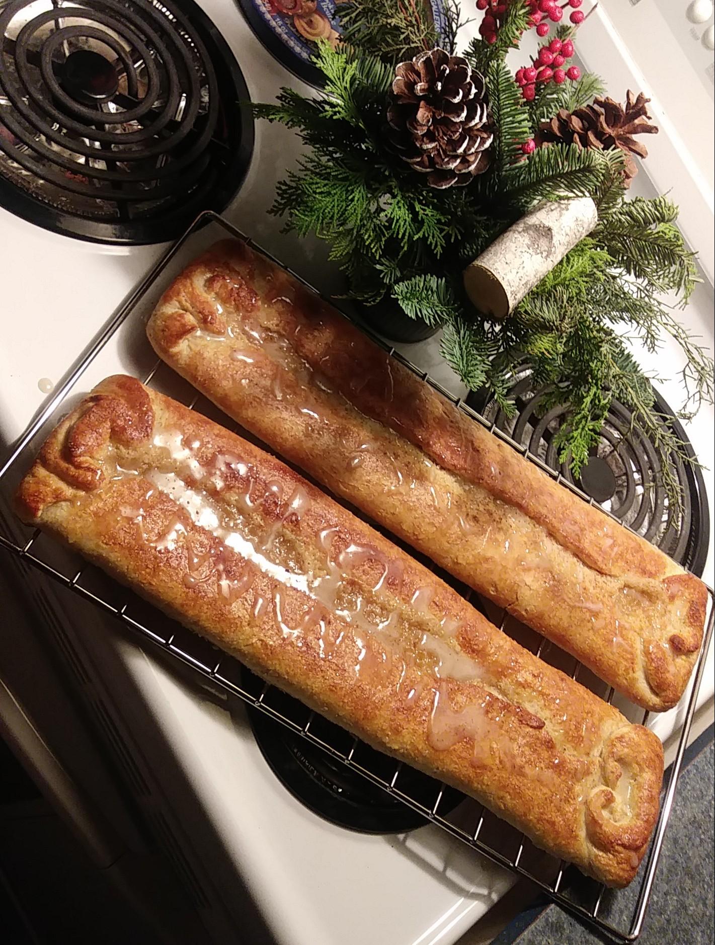 Marzipan Christmas Kringle (Juleskringle)