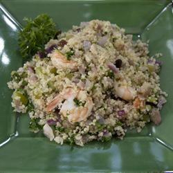 Shrimp and Quinoa