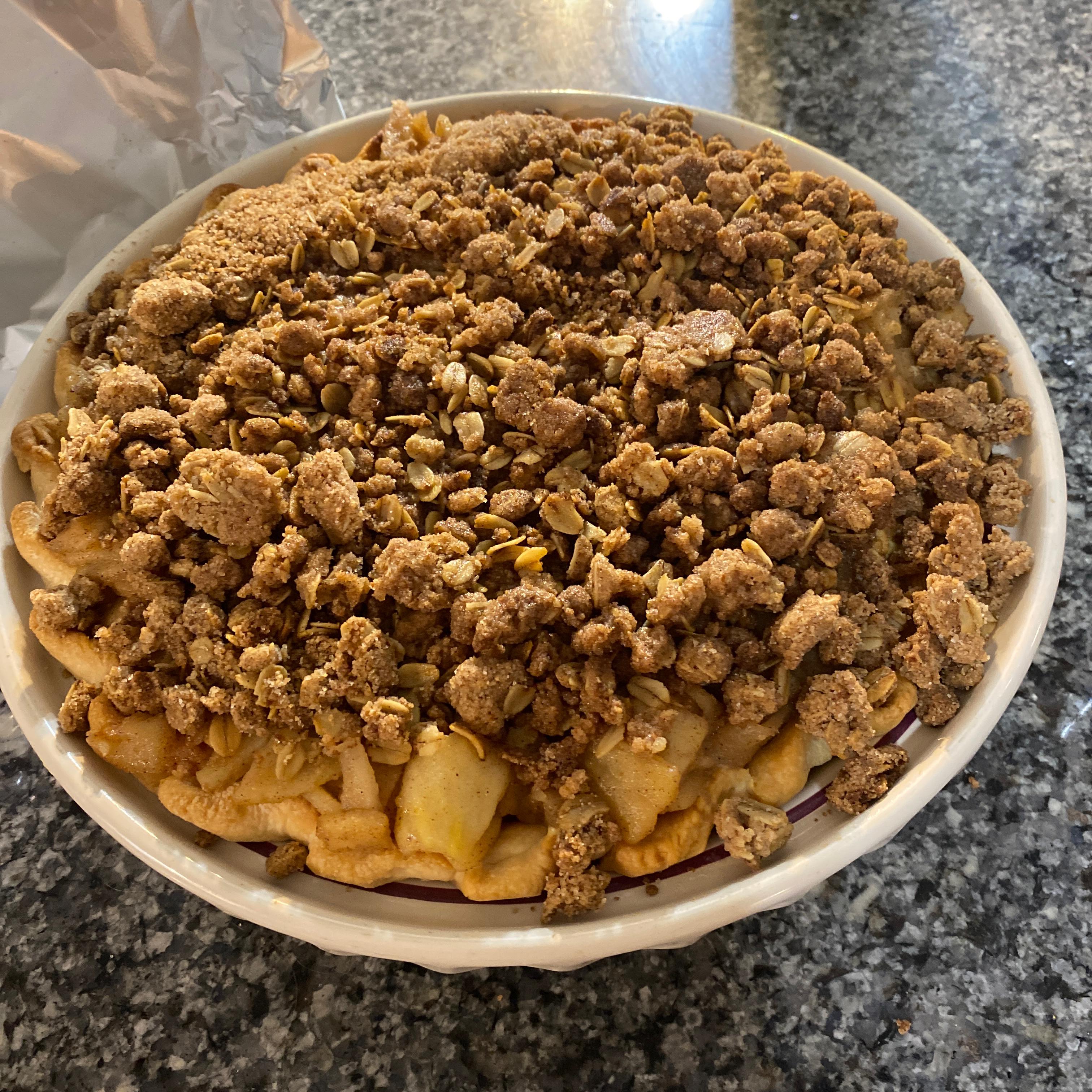 Maple Crunch Cream Pie momofj3