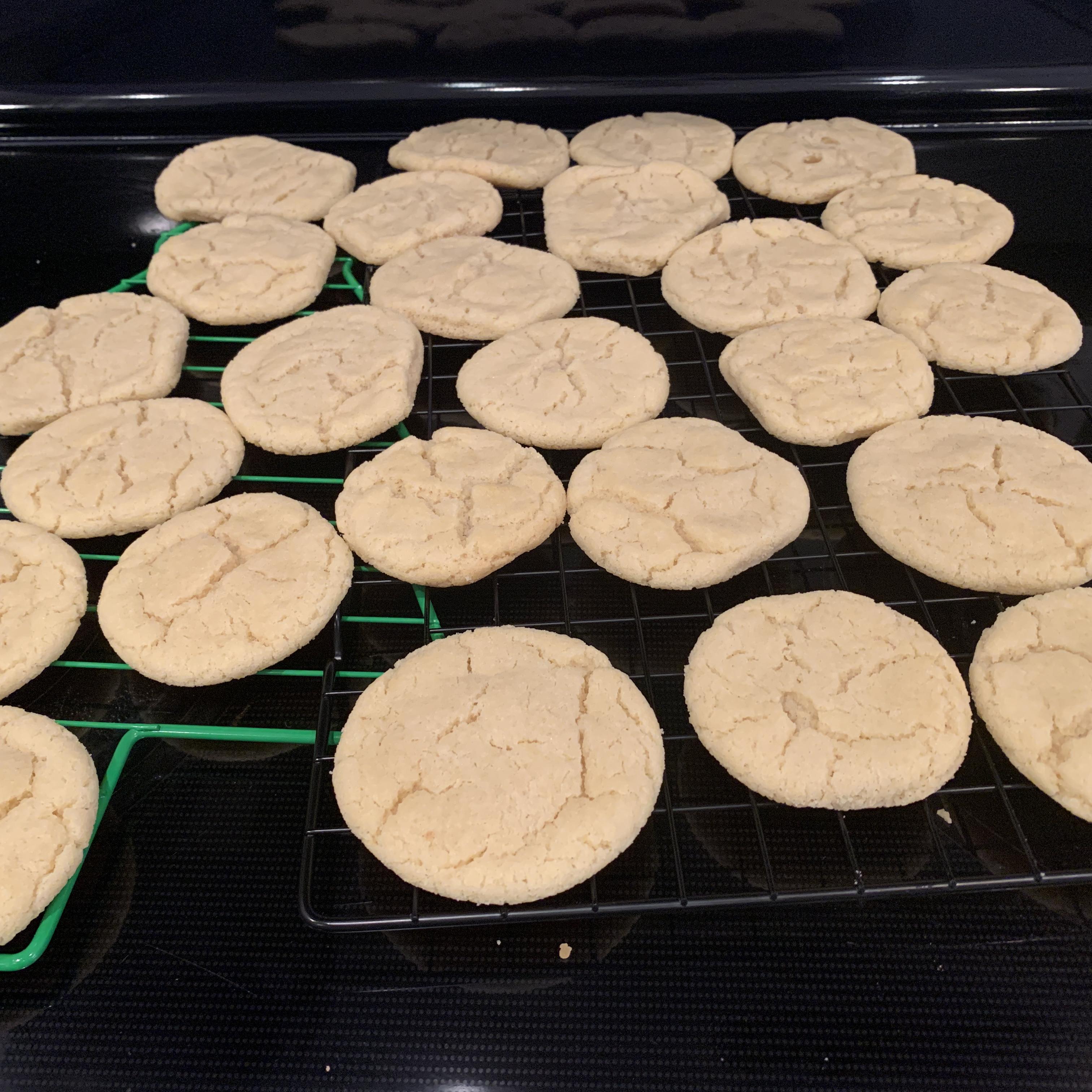 Coconut Oil Sugar Cookies RealMath