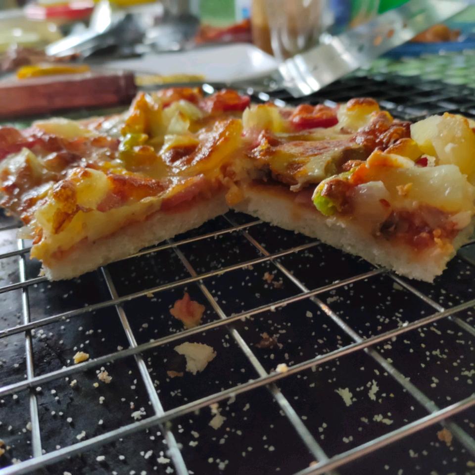 Thin-Crust Pizza Dough