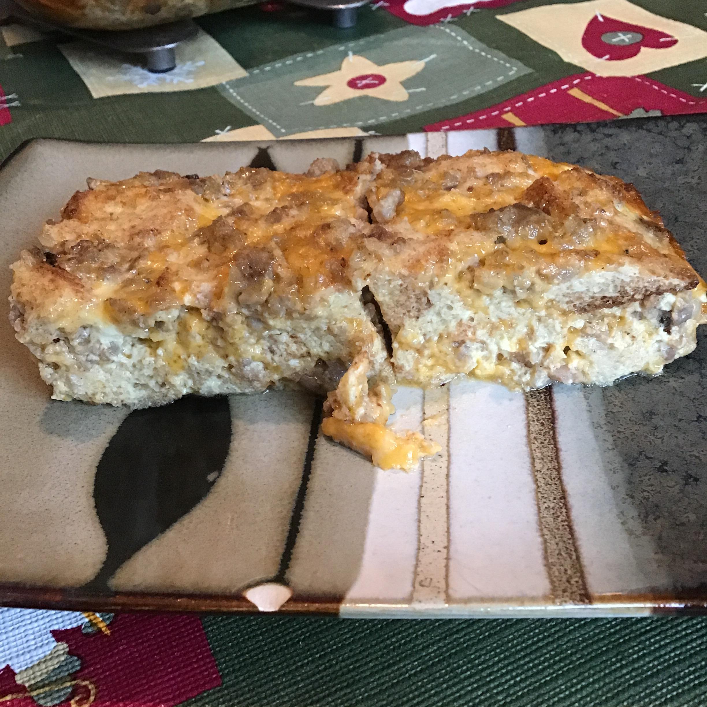 Christmas Breakfast Sausage Casserole