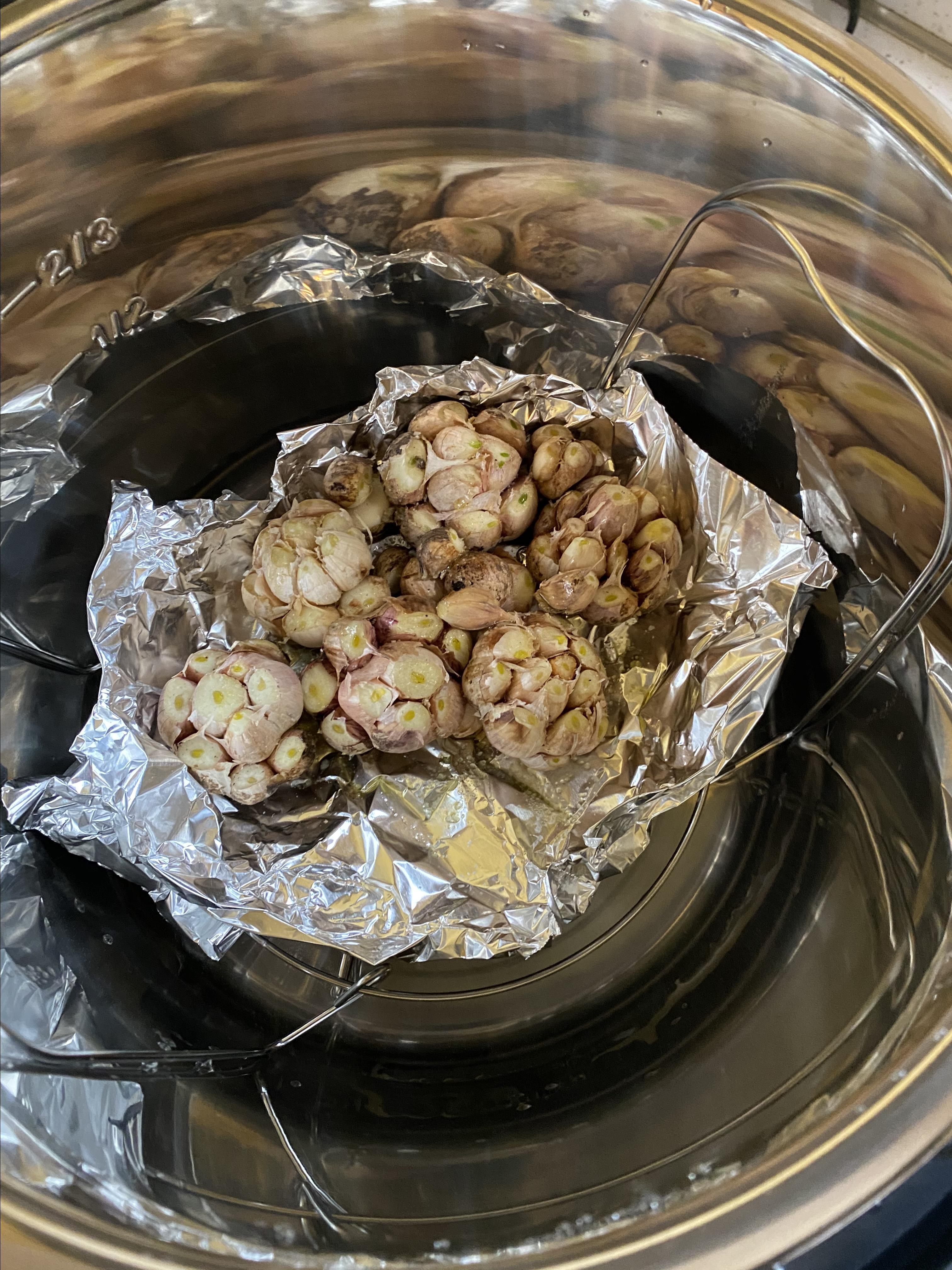 Instant Pot® Roasted Garlic Amy Callanan