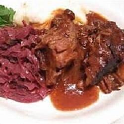 traditional sauerbraten recipe