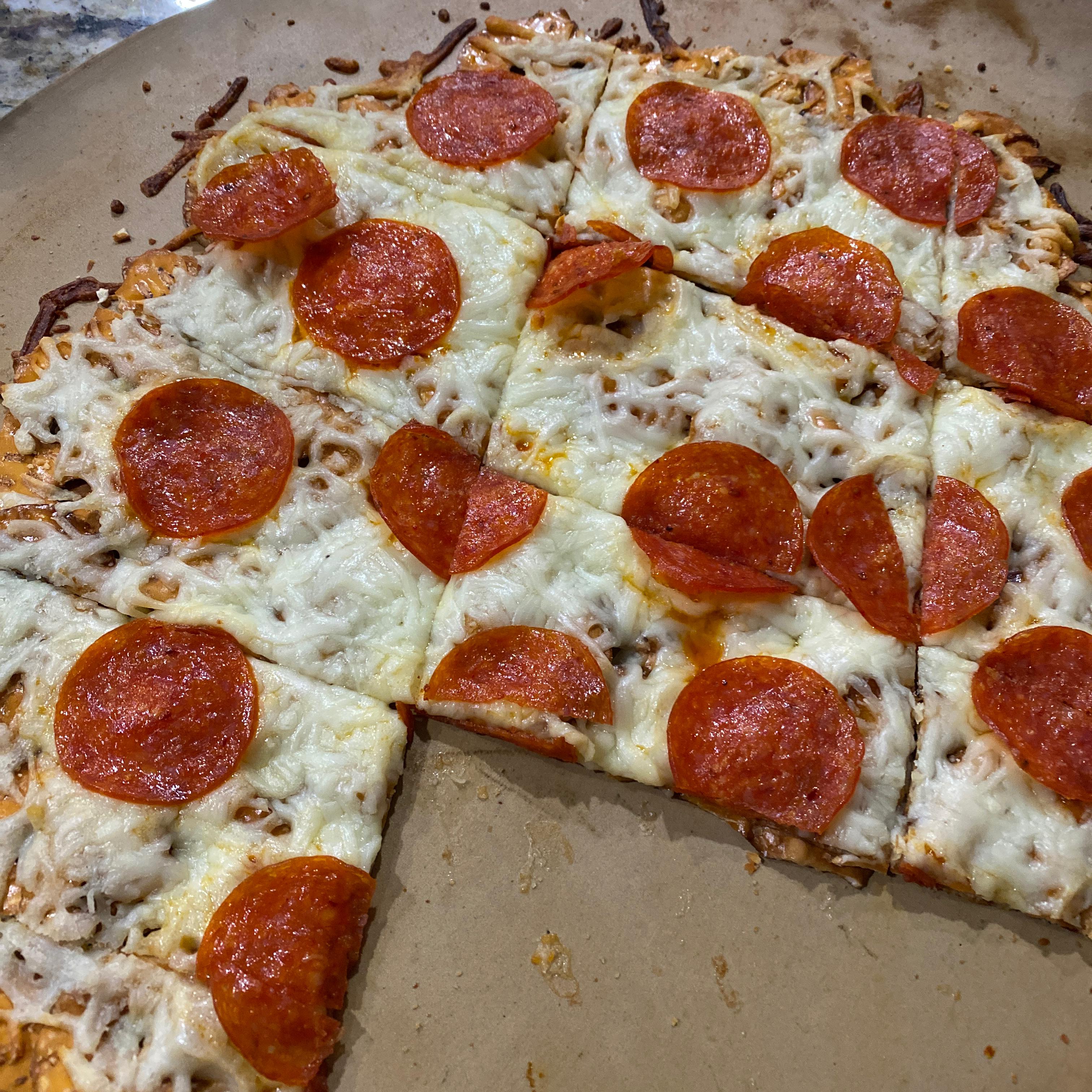 Pull-Apart Pretzel Crisps® Pizza Stephanie Arnold Estevez