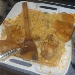 Chicken Kokkinisto with Orzo