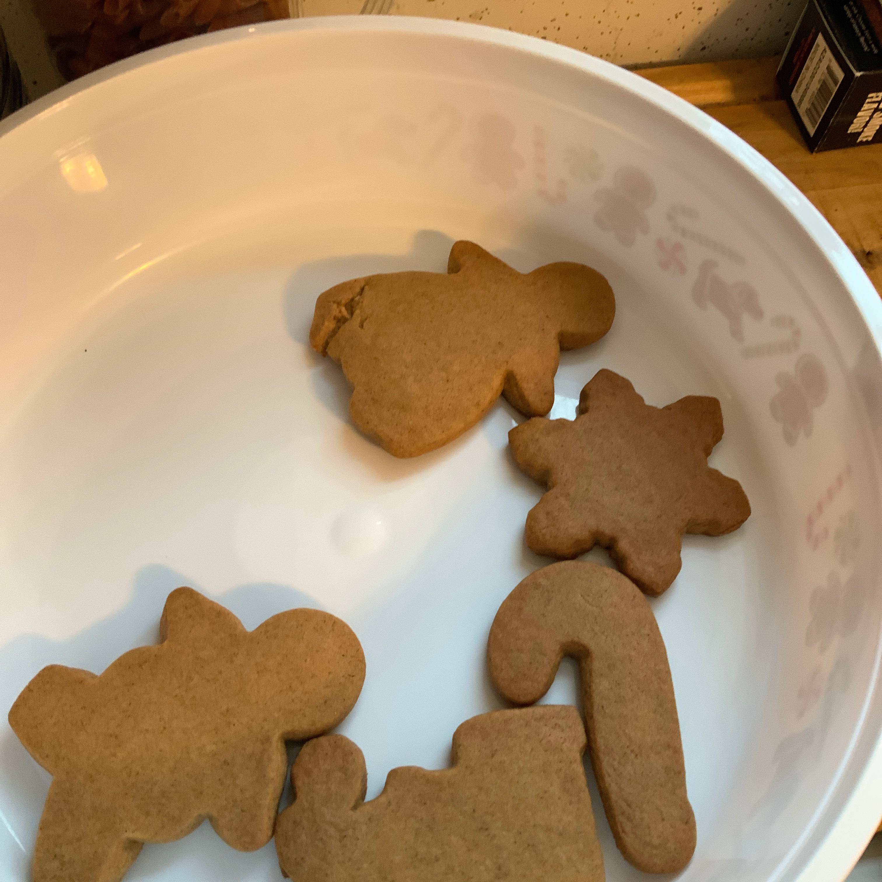 Gingerbread People from JELL-O Jenn Bueschel