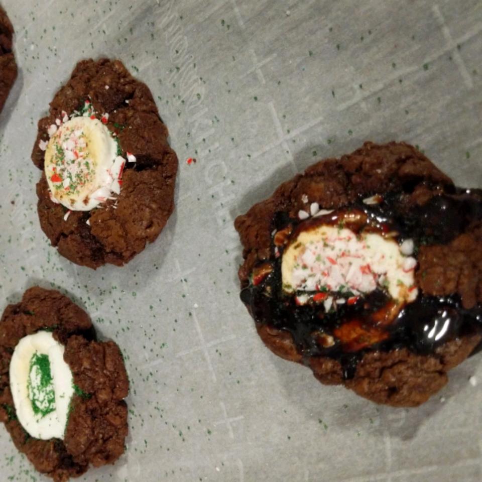 Ghirardelli's® Hot Chocolate and Toasted Marshmallow Cookies Nikki Johnston