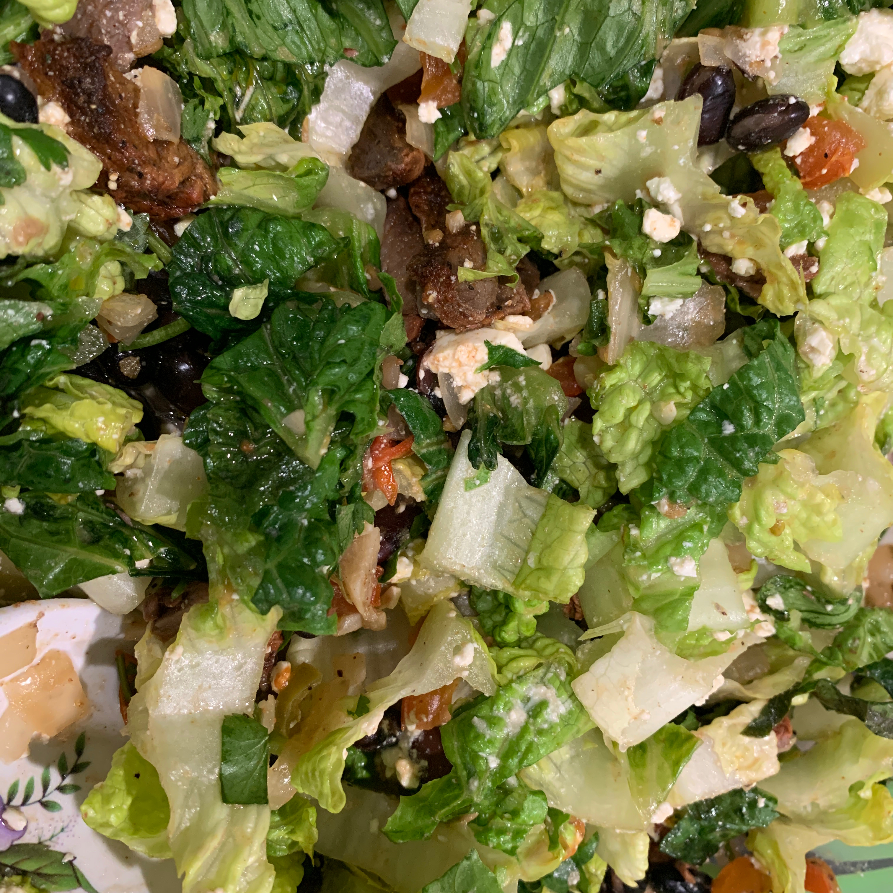 Mexican Steak and Veggie Salad LucyA