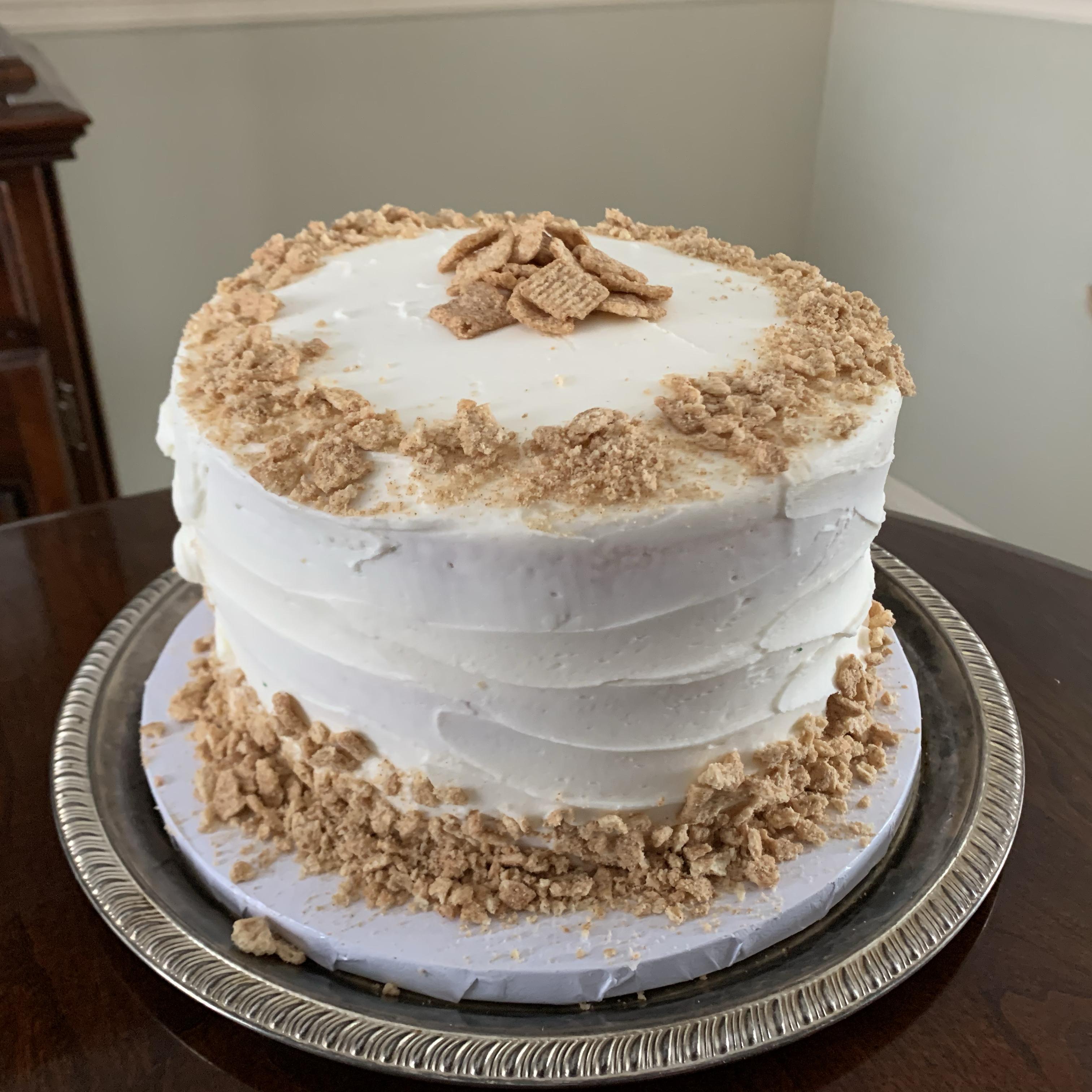 White Almond Wedding Cake big.al