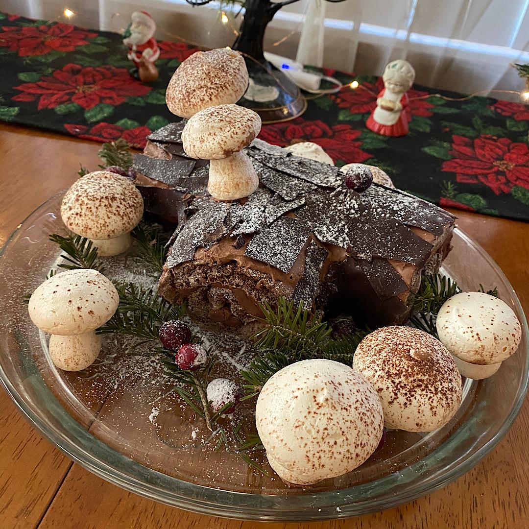Chocolate Decadence Yule Log