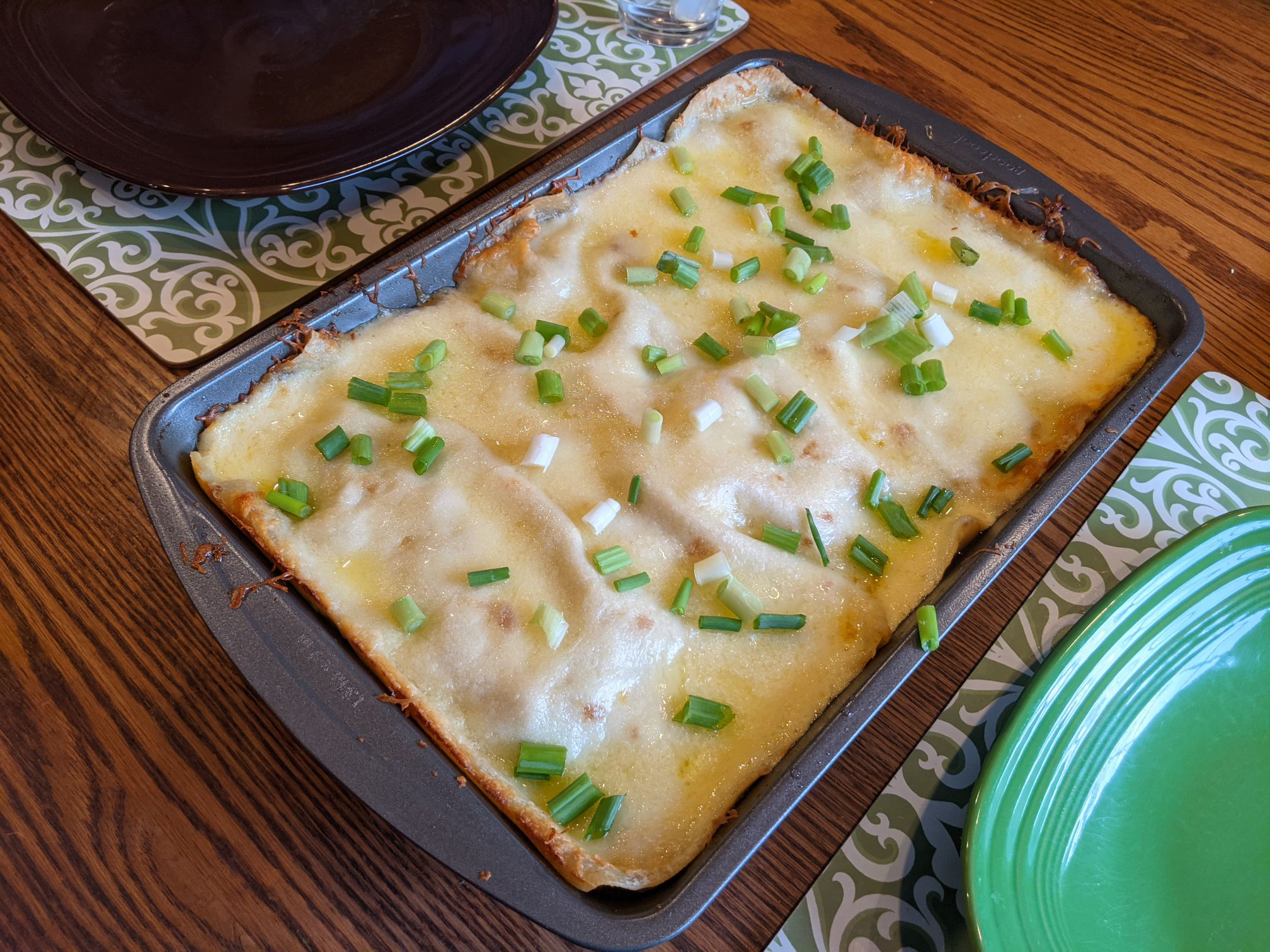 Chicken Enchiladas Suizas