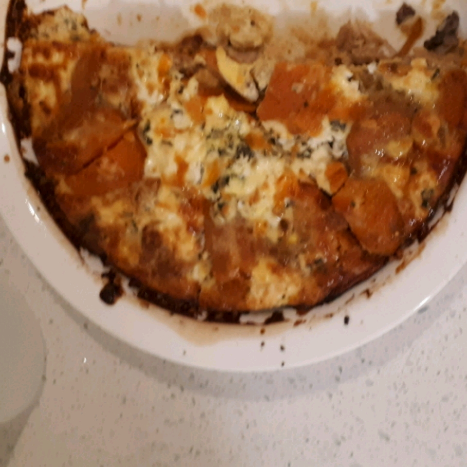 Rosemary Sweet Potato Quiche