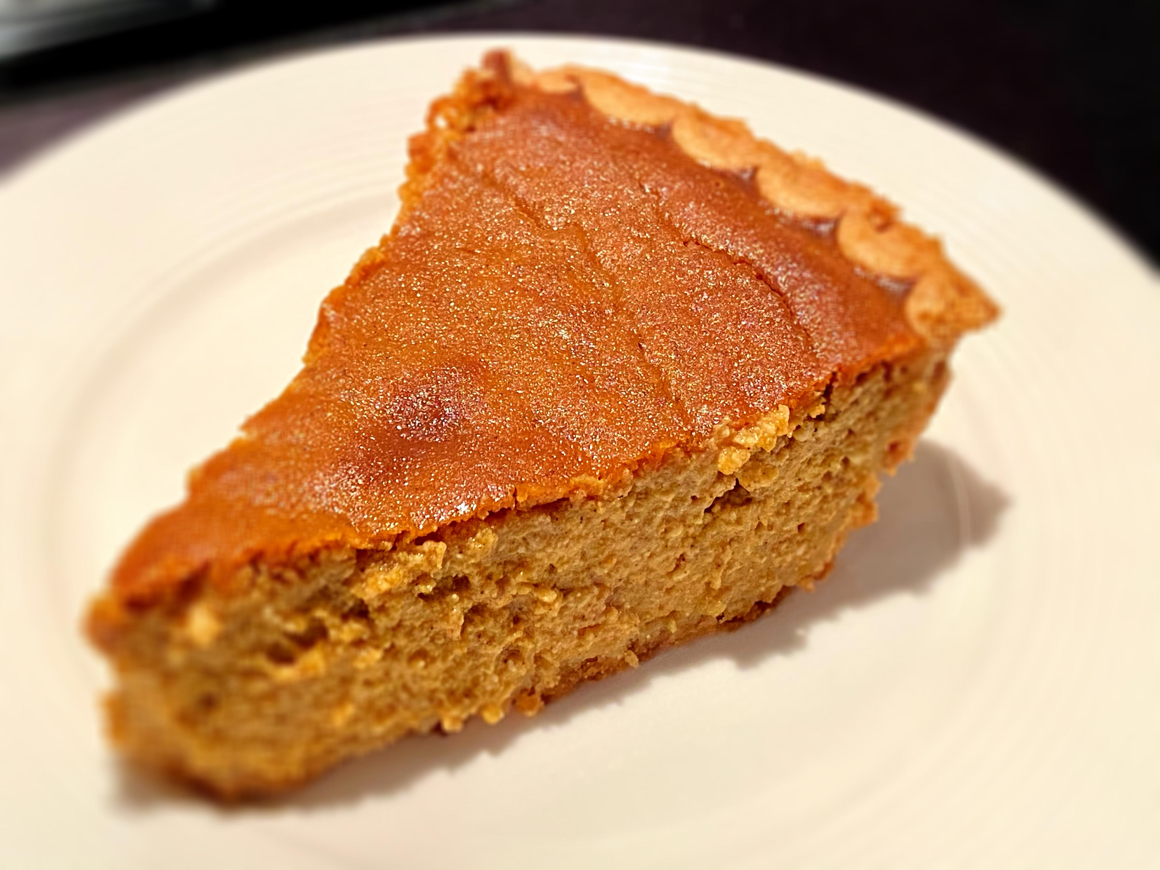 Creamy Pumpkin Pie with Ricotta Cheese 3Sorahs