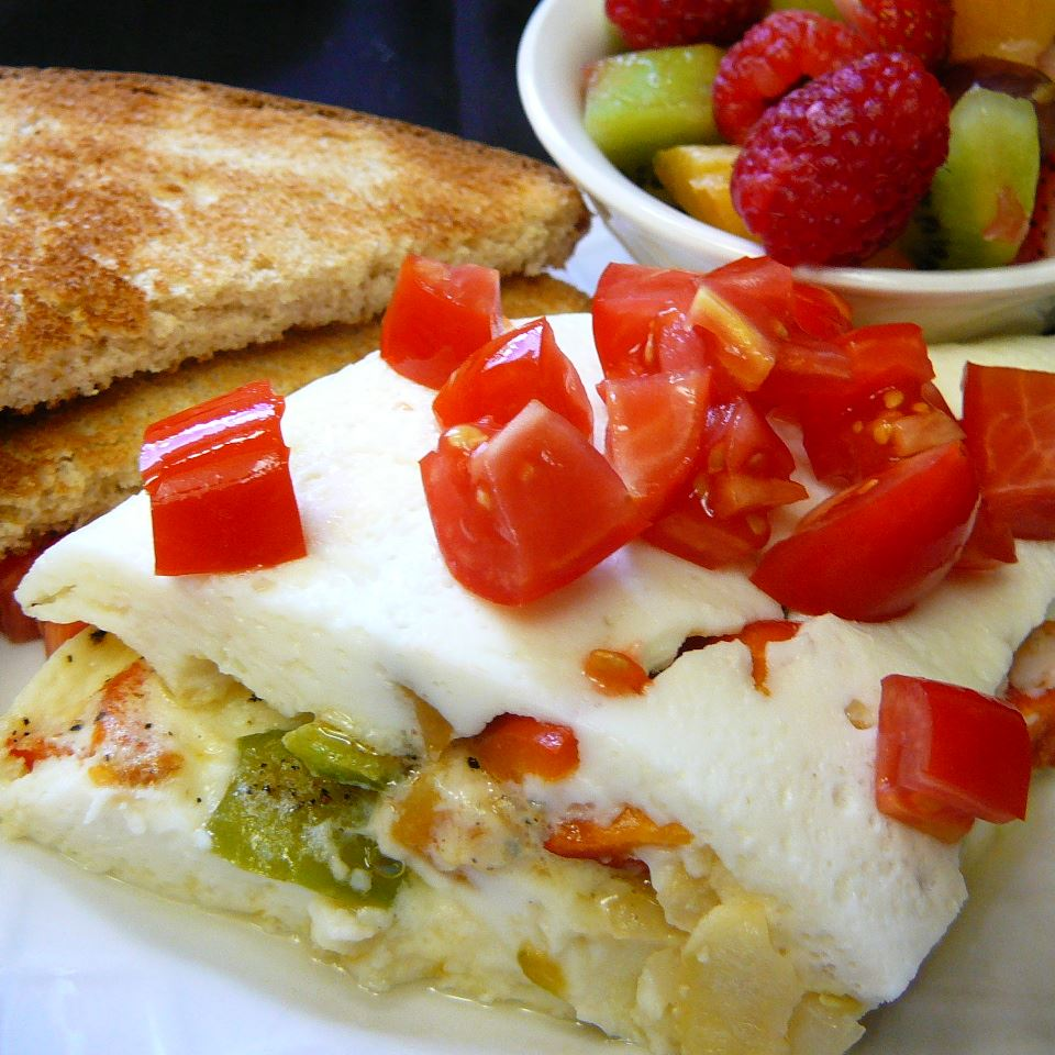 Easy Egg White Omelet
