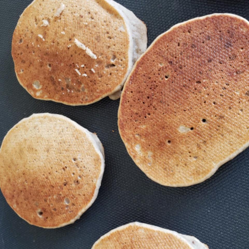 Gluten-Free Naturally Sweetened Banana Pancakes Marsha Rudon