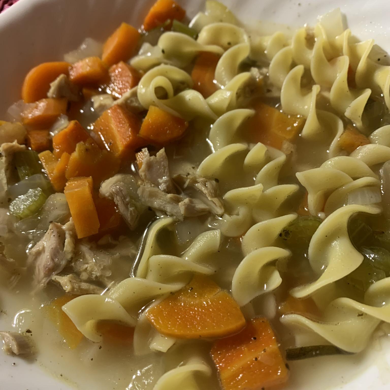 Old Man's Turkey Noodle Soup