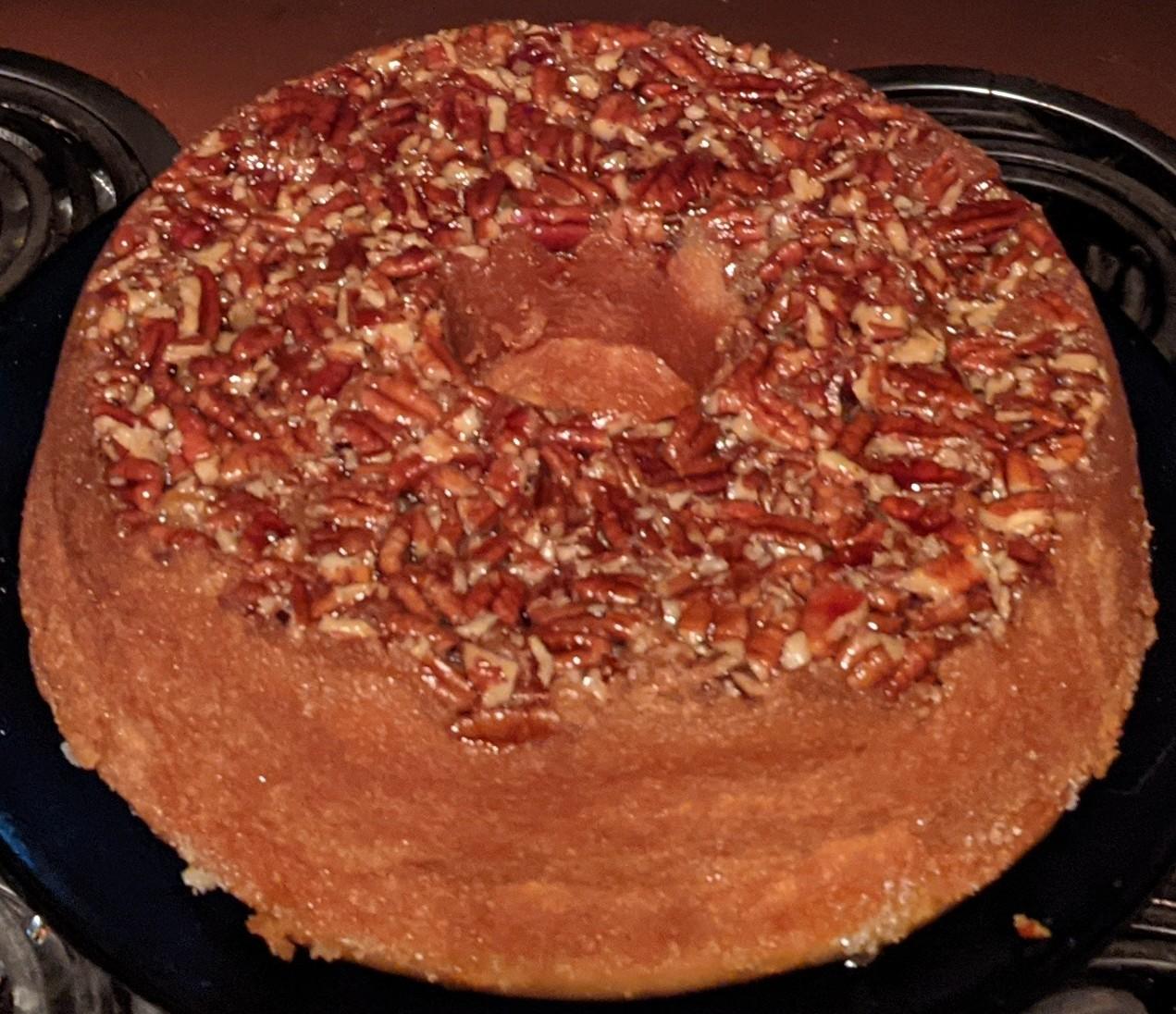 Golden Rum Cake Jan Donahue