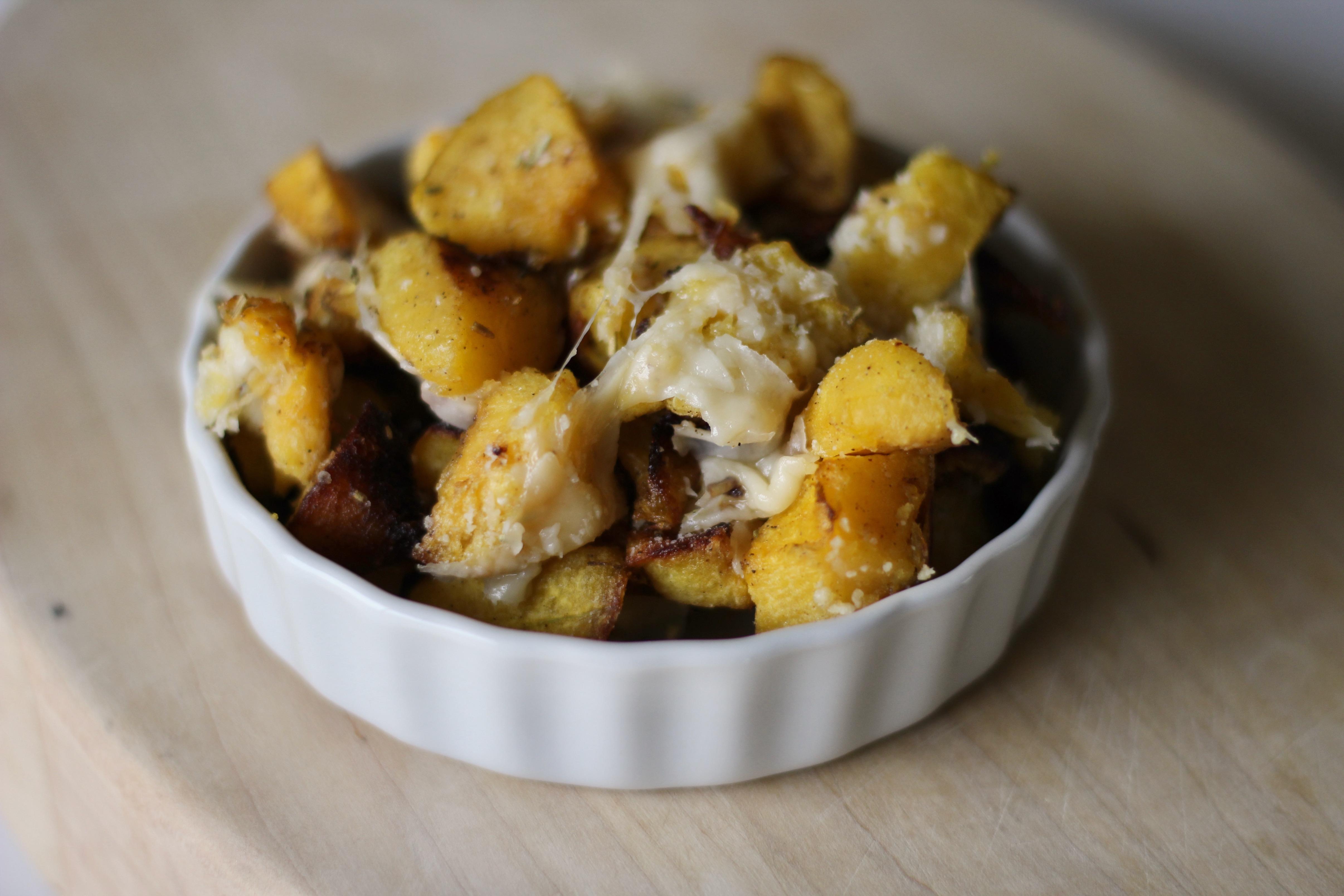 Roasted Acorn Squash with Parmesan SunnyDaysNora