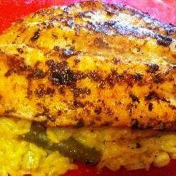 Blackened Catfish and Spicy Rice Calvin Pittman Jr.
