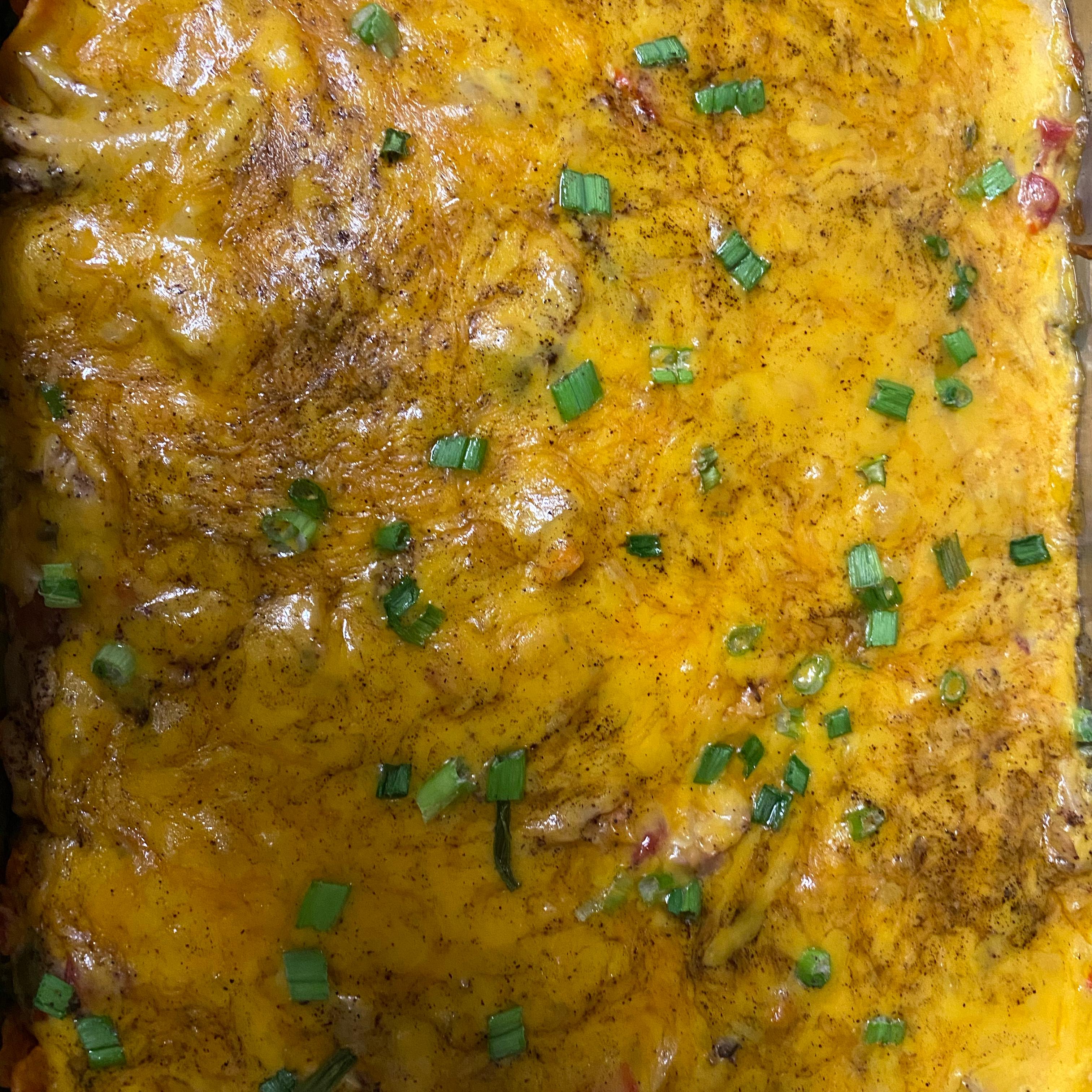 Tortilla Chip Casserole ChefThomasa