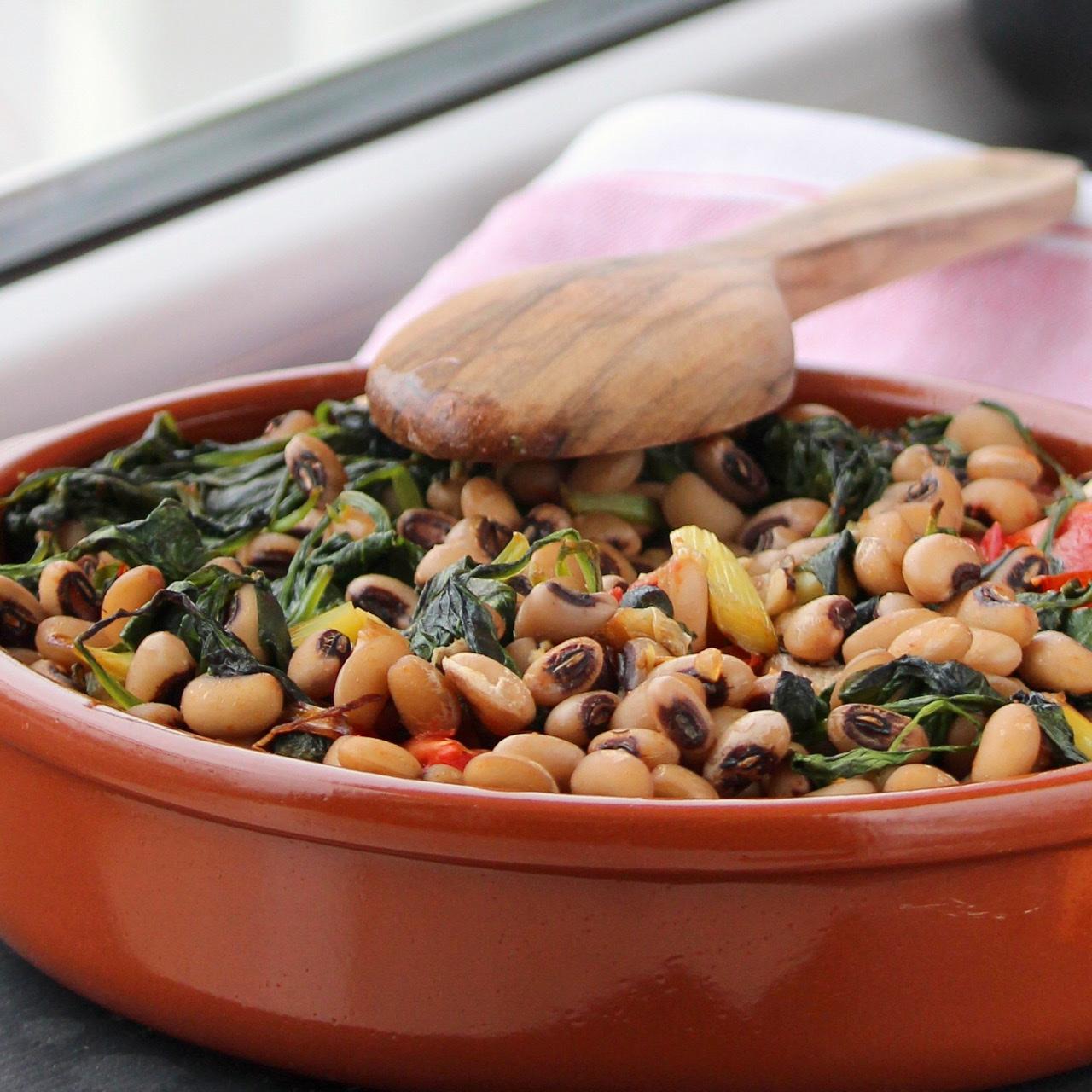 Spinach and Bean Casserole Buckwheat Queen