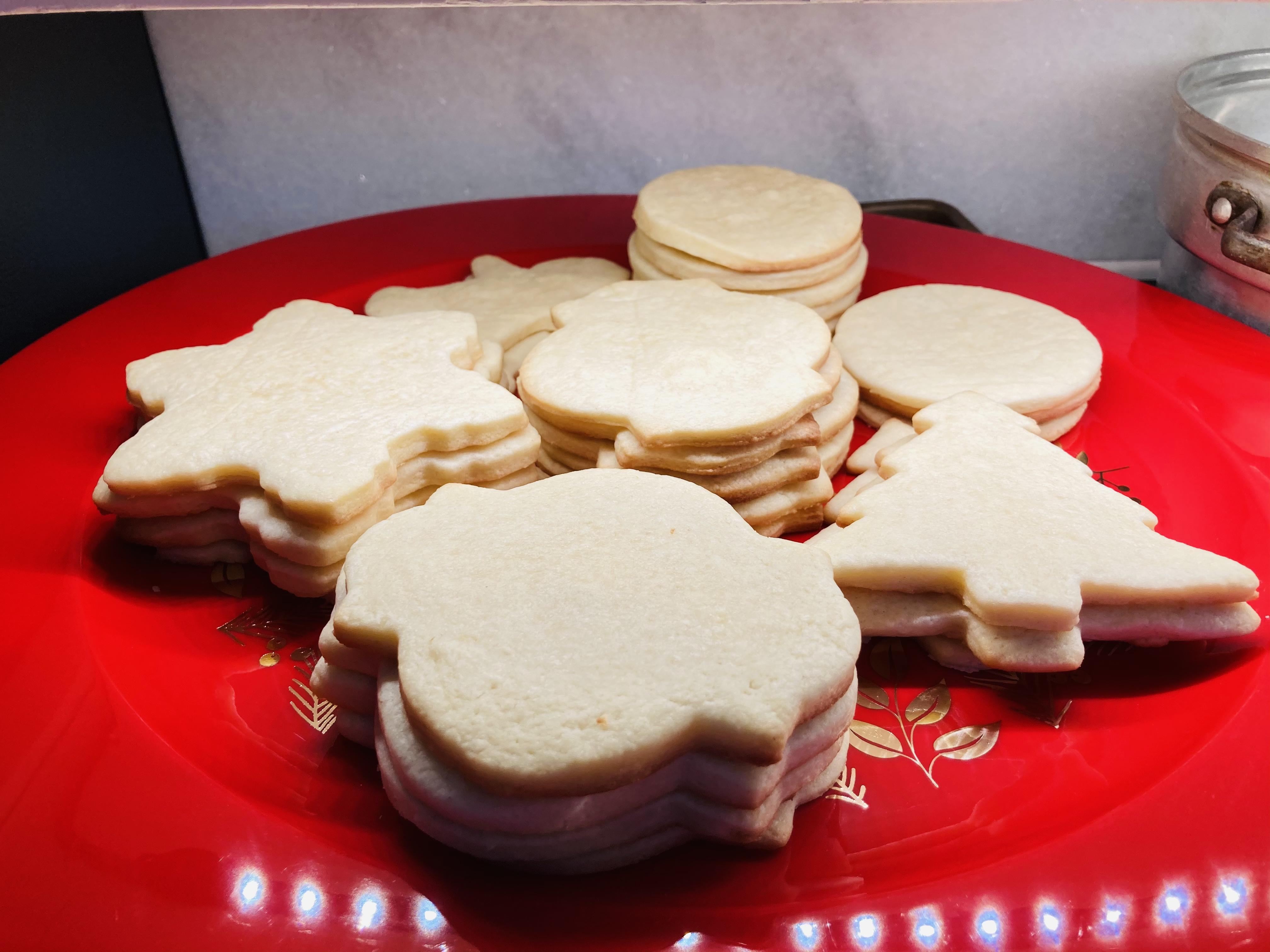 Cream Cheese Sugar Cookies Amber