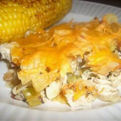 Hot Chicken Salad Casserole Jillian Kuhlmann